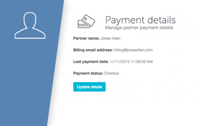 How to update your payment details