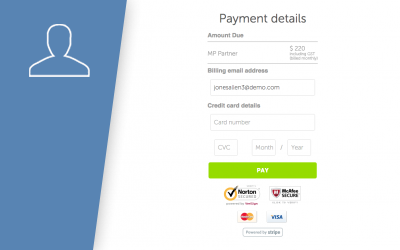 How to enter your payment details