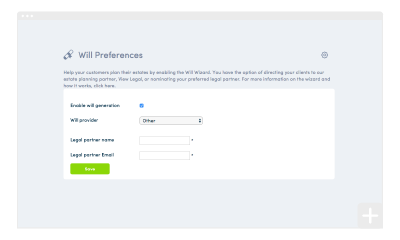 Broaden your horizons with myprosperity's estate planning functionality