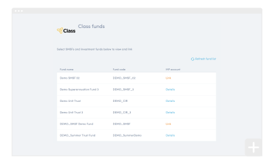 Linking Class Super funds to your clients