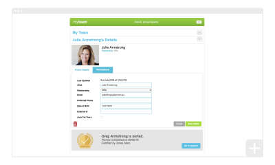 Amending client details for on-boarding