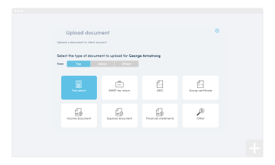 How to upload a document for signing