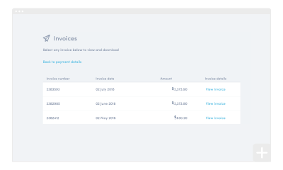 How to view past invoices