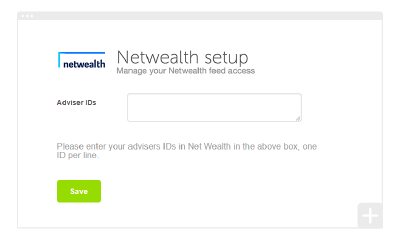 How to set up your Netwealth integration