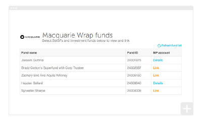 How to set up your Macquarie Cash/Wrap Integration