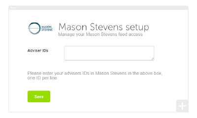 How to set up your Mason Stevens integration