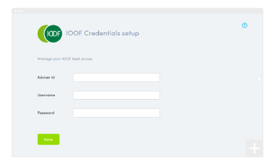 How to set up your IOOF integration