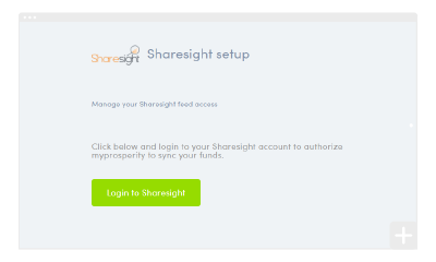 How to set up your Sharesight integration
