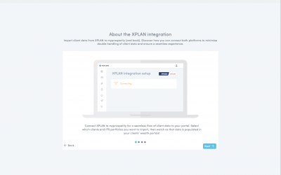 How to set up your XPLAN integration